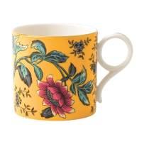"""Wedgwood 40024013 Wonderlust Mug Yellow Tonquin, 3.3"""""""