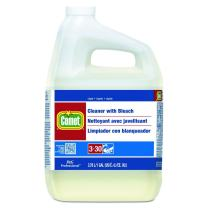 P&G Professional Multi-Purpose Liquid Cleaner with Bleach by Comet Professional, Disinfectant and Sanitizer Wipes up Pathogens, Ready to Use Bulk Refill for Commercial Kitchen and Bathroom Uses, 1 gal. (Case of 3) - 07031