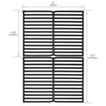 Uniflasy 15 Inch Cast Iron Grill Cooking Grid Grate for Weber Old Spirit 200 Series, Spirit E/S 200 & 210 with Side Control Panel, Spirit 500, Genesis Silver A, for Weber 7522 7523 7521 65904 65905