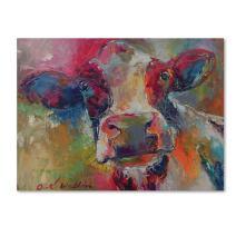 Art Cow 4592 by Richard Wallich, 14x19-Inch Canvas Wall Art