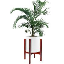 Plant Stand, ZOUTOG Adjustable Mid Century 10 inch Planter Stand, Stylish & Versatile Modern Plant Stand for Indoor & Outdoor Use, Pot & Plant Not Included