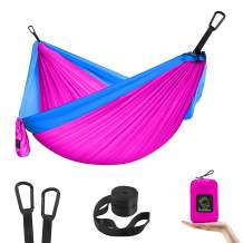 Kids Hammock for Camping, Portable Hammock for Child Girls Boys Toddlers, Ultralight Small Size Mini Hammocks with Straps and Carabiners for Indoor and Outdoor Camping and Patio
