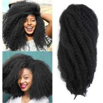 Marley Hair 18 inch for Twists Afro Kinky Marley Braiding Hair Ombre Extensions Synthetic Twist Crochet Braiding Hair Hair Extension 3/6 Packs/Lot long janet marley hair (18''-6 Packs, 1#)