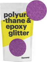 Hemway Metallic Glitter Floor Crystals for Epoxy Resin Flooring (500g) Domestic, Commercial, Industrial - Garage, Basement - Can be Used with Internal & External (Rose Pink)