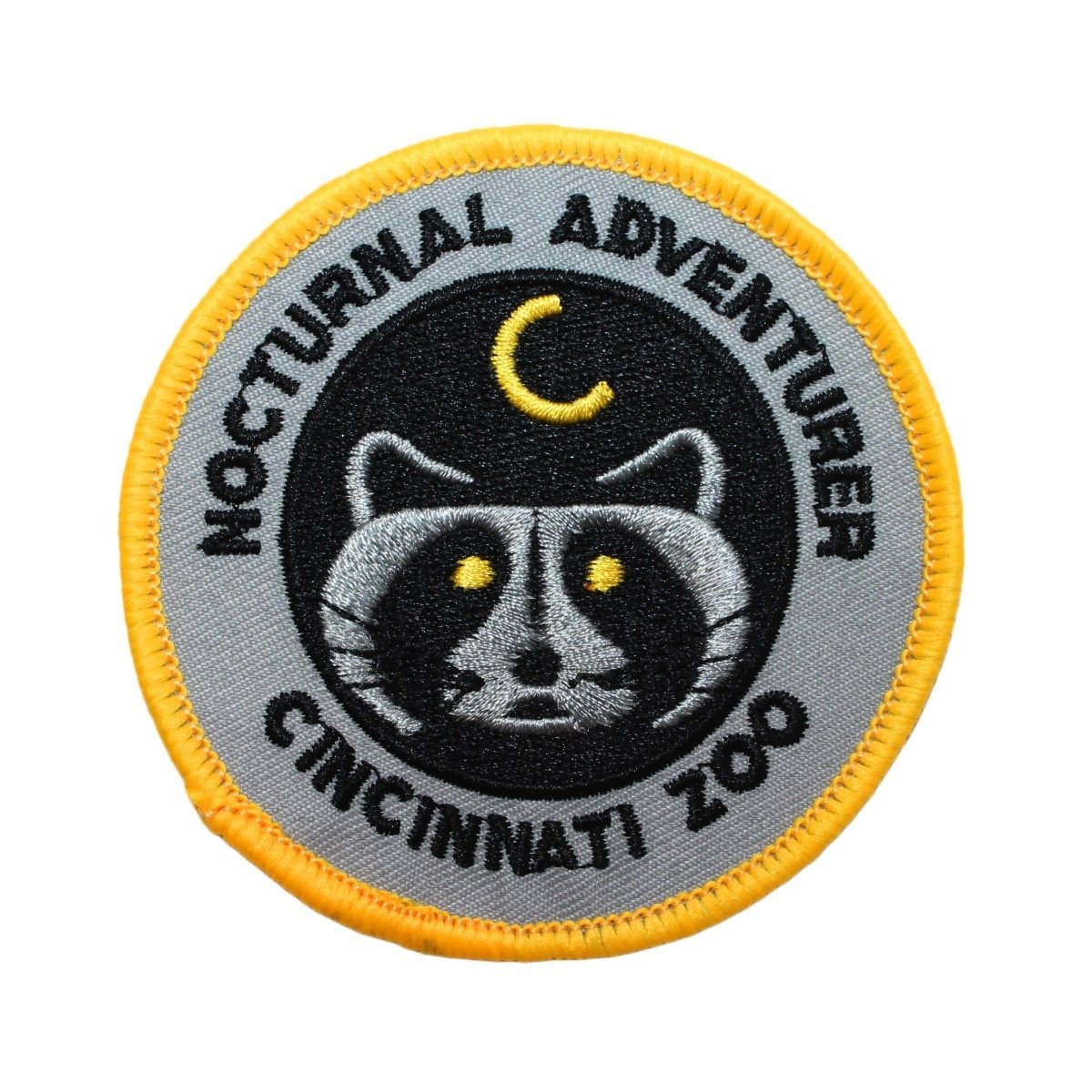Cincinnati Zoo Nocturnal Adventure Patch Travel Embroidered Iron On Applique