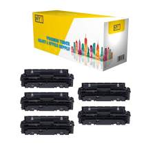 NYT Compatible Toner Cartridge Replacement for Canon 046 for Canon ImageCLASS LBP654Cdw, LBP654Cfw, MF731Cdw, MF733Cdw, MF735Cdw (Black,Cyan,Magenta,Yellow,5-Pack)