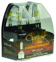 Optilux Hella H71071172 XY Series 880 Xenon Yellow Halogen Bulbs, 12V, 27W, 2 Pack