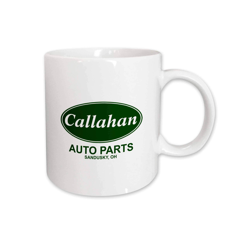 3dRose Callahan Auto Parts Ceramic Mug, 15-Ounce