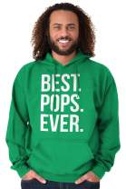Best Pops Ever Dad Grandpa Fathers Day Hoodie