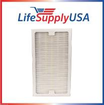 LifeSupplyUSA 4 Pack Replacement HEPA Compatible with Hunter 30966 Filter Air Purifier 30747, 30748, 30750, 30856, 37748, 37750