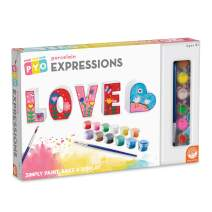 MindWare Paint Your Own Porcelain Expressions: LOVE