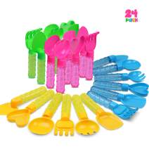 Duckura Bubble Wands for Kids(24 Pack Middle Size), Bubble Sticks with Beach Tool Head, Summer Outdoor Bubbles Party Favor Toys Gifts for Toddlers Boys Girls Age 2 3 4 5 6 and Up