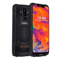 Rugged Mobile Phones Unlocked, DOOGEE S90 C IP68 Cellphone Android 9.0, 4G Dual SIM Free Smartphone Outdoor, 4+64GB, 16+8+8MP AI Camera, 6.18 Inch FHD/5050mAh/GPS/Face ID/NFC/Wireless Charging, Black