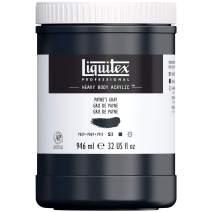 Liquitex Professional Heavy Body Acrylic Paint, 32-oz Pot, Payne's Gray