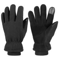 Cierto -30℉ Cold Winter Gloves For Men And Women Touchscreen & Waterproof