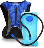 Aduro Sport Hydration Backpack [Hydro-Pro], 1.5L / 2L / 3L BPA Free Water Bladder, Unisex, Water Resistant, Durable, Light Weight, Adjustable Sizing
