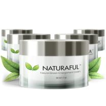 NATURAFUL - (5 JAR Supply) TOP Rated Breast Enhancement Cream - Natural Breast Enlargement, Firming and Lifting Cream   Hormone Balancing, Made from Plant Extracts, Trusted by Over 100,000 Users