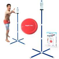 GIGGLE N GO Outdoor Games, Lawn Games, Yard Games for Kids and Adults or Beach Games. Our Highly Addictive Frisbee Game is The Only 1 You Can Play on All Surfaces, Grass, Sand, Concrete or Gym Floors