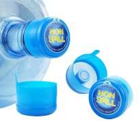 3 & 5 Gallon Water Jug Cap Replacement Non Spill Bottle Caps Anti Splash Peel Pack of 20