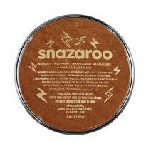 Snazaroo Face and Body Paint, 18ml, Metallic Copper, 6 Fl Oz