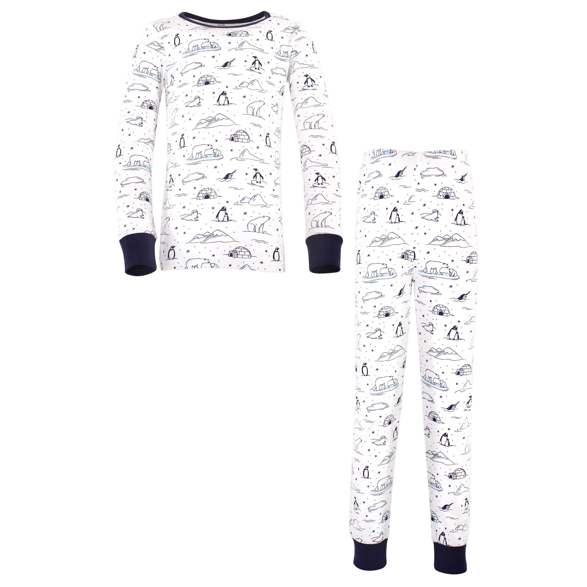 Touched by Nature Unisex Baby Organic Cotton Long Sleeve Tee Top and Pants