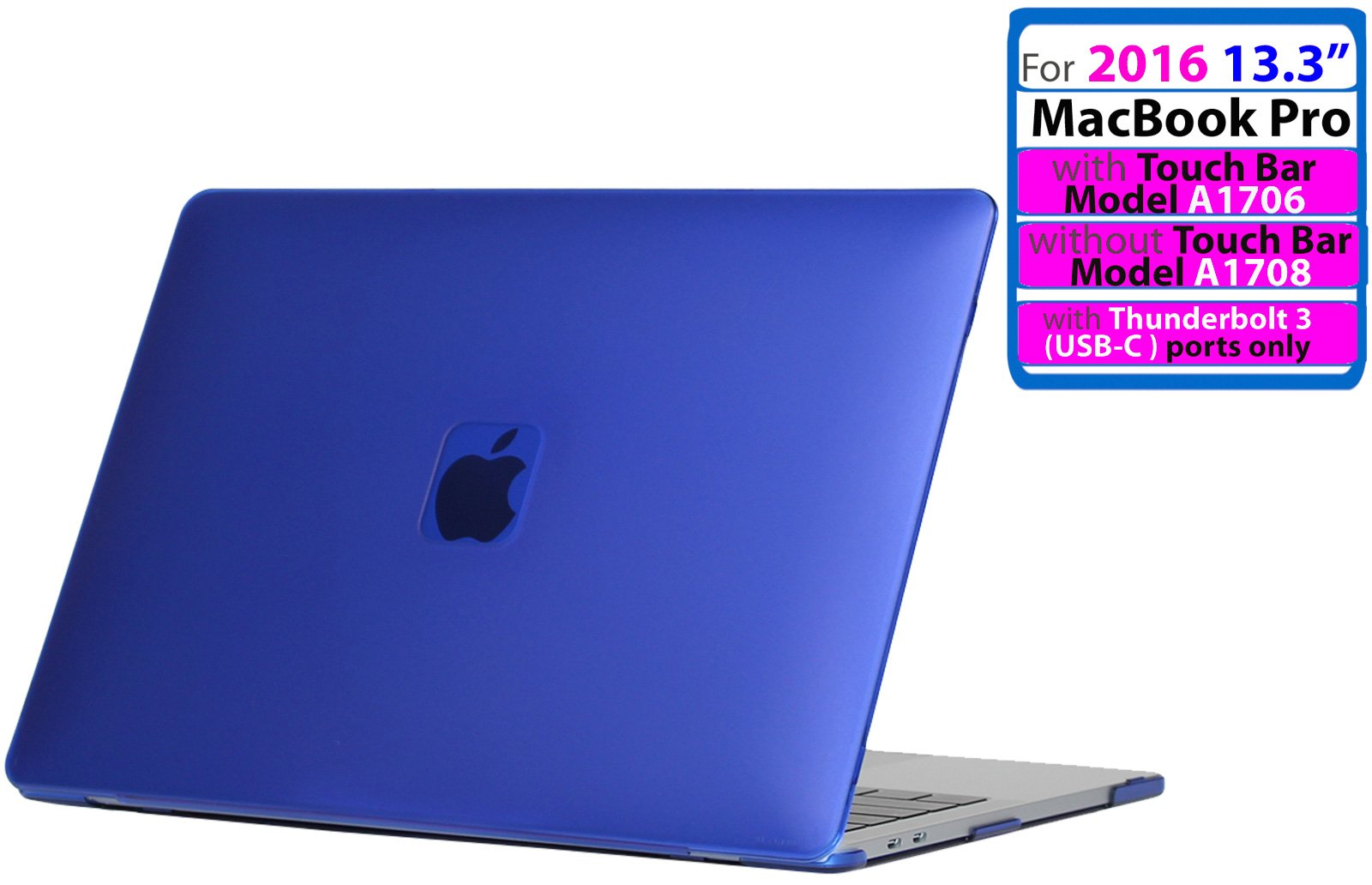 iPearl mCover Hard Shell Case for 13-inch Model A1425 / A1502 MacBook Pro (with 13.3-inch Retina Display) (Blue)