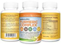 Paleovalley - Organic Turmeric Complex (60-Count) - 30-Day Supply - 1,000 Mg of Turmeric Per Serving - Source of Superfoods - Formulated to Fight Inflammation and DNA Damage