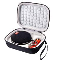 Case for JBL Clip 2 / JBL Clip 3 Waterproof Portable Bluetooth Speaker, Fit USB Cable and Adapter - Black