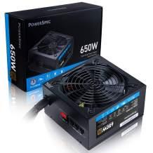PowerSpec 650W Power Supply Semi Modular 80+ Bronze Certified ATX Active PFC SLI Crossfire Ready Gaming PC Computer Switching PSU