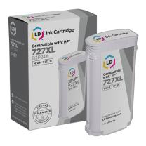 LD Remanufactured Ink Cartridge Replacement for HP 727XL B3P24A High Yield (Gray)