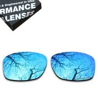 ToughAsNails Polarized Lens Replacement for Oakley Jupiter Squared OO9135 Sunglass - Ice Blue AR Polarized