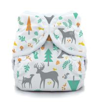 Thirsties Duo Wrap Cloth Diaper Cover, Snap Closure, Woodland, Size 1 (6-18 lbs)