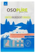 Artemis OSOPURE Dry Dog Food - Grain Free Limited Ingredient Salmon Garbanzo Bean Formula Protein Nutrition All Life Stages