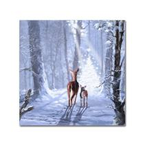Christmas Magic by The Macneil Studio, 14x14-Inch Canvas Wall Art