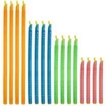 Magic Bag Sealer Stick, Chip Clips Plastic Bag Sealer Stick,Random Color (ASSORTED 16 Pieces)
