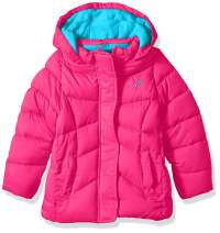 Vertical '9 Girls' Quilted Bubble Jacket with Hood