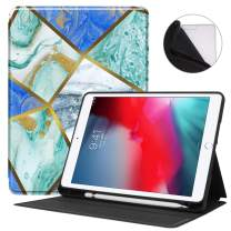 Famavala Soft TPU Shockproof Case Cover Compatible with iPad 10.2 2019 7th Generation Tablet (Bluoden)