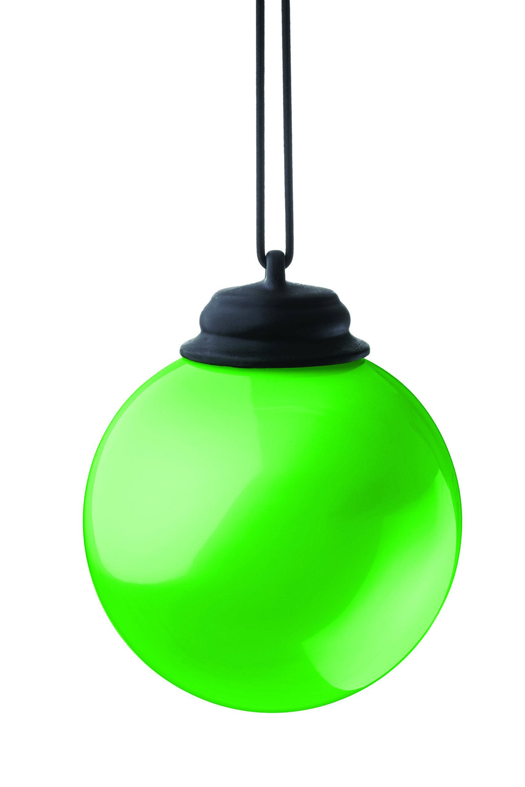 """Xodus Innovations WP465 Battery Powered Hanging Decorative Outdoor Led Pulsing Globe, 5"""", Light Green"""