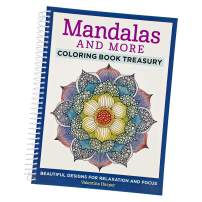 Various Adult Coloring Books – Relaxation, Focus, and Calming The Mind (Mandalas and More)