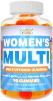 Multivitamin Gummy for Women by Feel Great 365 | Multi Chewable Gummy Supplement with Vitamin A, B-6, B-12, C, D, E, Biotin, Choline, Folic Acid, Zinc & More ● Supports Healthy Women Function,
