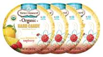 Torie and Howard Organic Hard Candy Lemon and Raspberry, 2 Ounce (Pack of 4)