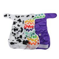 Hi Sprout Female Dog Diaper Reusable Washable Durable Absorbent Cloth Doggie Diapers Pants s2