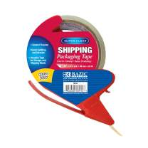 """BAZIC 1.88"""" x 27.3 Yards Clear Heavy Duty Packing Tape w/Dispenser, Industrial Warehouse Office Use, Shipping Packaging Moving Sealing Tapes, 36-Pack"""