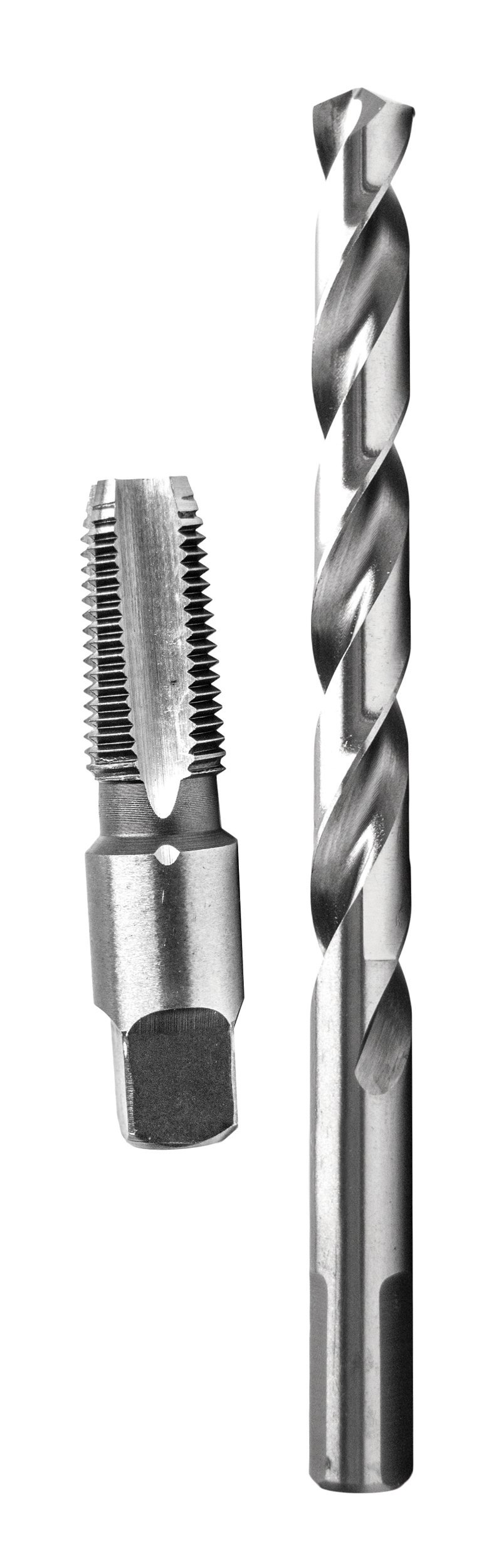 """Century Drill & Tool 93201 1/8-27 NPT Tap and 21/64"""" Drill Combo Pack"""