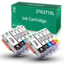 GREENSKY Compatible Ink Cartridge Replacement for Canon 270XL 271XL to use with PIXMA MG7720 MG6820 MG5720 TS9020 TS6020 MG6821 MG5722 Printer (2 PGBK, 2 Black, 2 Cyan, 2 Magenta, 2 Yellow, 10 Pack)