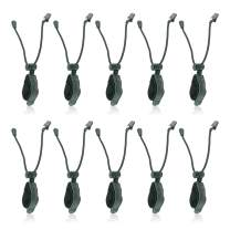 LINCO Lincostore Studio Backdrop Stand Clamp Clips Holder for Backgroud Muslin (10 Pack)