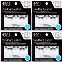 Ardell Pre-Cut False Lashes 900 with Free DUO adhesive, 4 packs