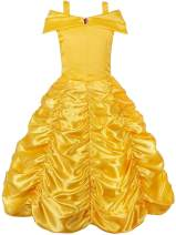 JerrisApparel Princess Dress Off Shoulder Layered Costume for Little Girl