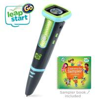 LeapFrog LeapStart Go System, Charcoal and Green, Great Gift for Kids, Toddlers, Toy for Boys and Girls, Ages 4, 5, 6, 7, 8