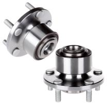 SCITOO Compatible with Both(2) 513255 Front Wheel Hub Bearing Assembly fit 2005-2013 Volvo 5 Lugs